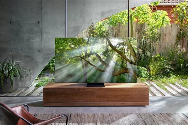 三星2020款8K QLED電視全球率先支持Wi-Fi6:正面屏占比高達99%
