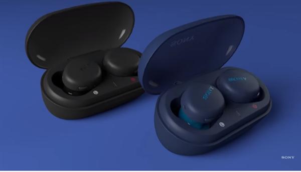 索尼发布两款无线蓝牙耳机:降噪豆廉价版到来、35小时续航狂魔
