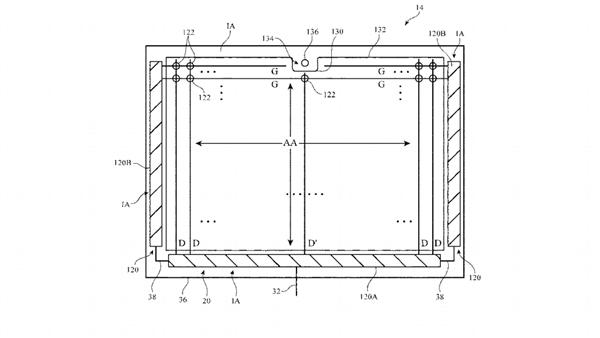 苹果专利曝光新iPad Pro:首次配备刘海屏、凹槽位于长边中央