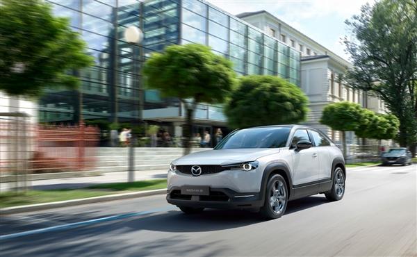 马自达全新纯电SUV曝光:搭长安动力 中国市场特供
