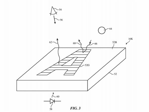 苹果专利显示:True Tone原彩显示技术将用于MacBook键盘、自动调整背光