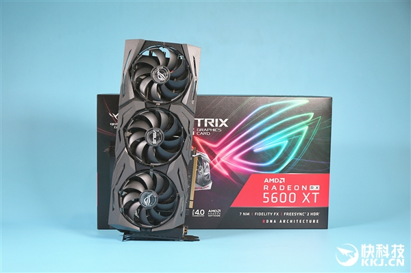 一流散热 华硕ROG Strix RX 5600 XT Gaming拆解图赏