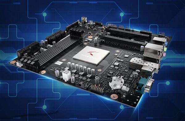 湖南研发华为鲲鹏CPU服务器下线:最多128核 26路SSD