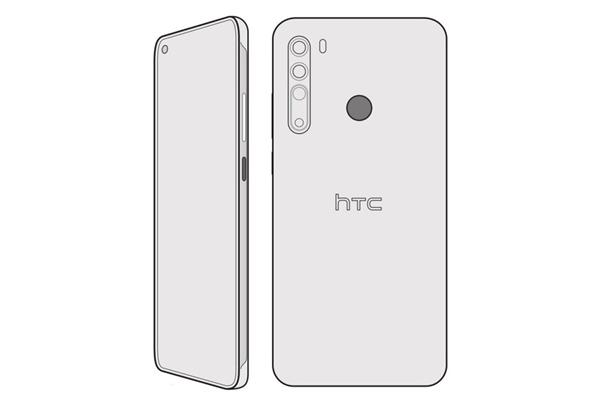 挖孔屏+四摄 HTC Desire 20 Pro首曝:神似背部指纹版米10