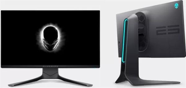 外星人发布全新25寸电竞显示器:360Hz刷新!IPS材质