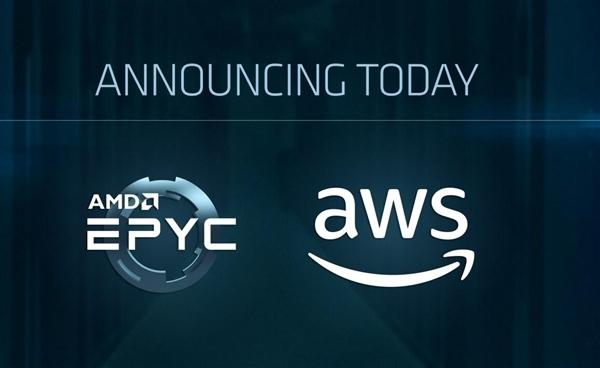 拿下第一云巨头!AMD二代霄龙首次入驻亚马逊AWS