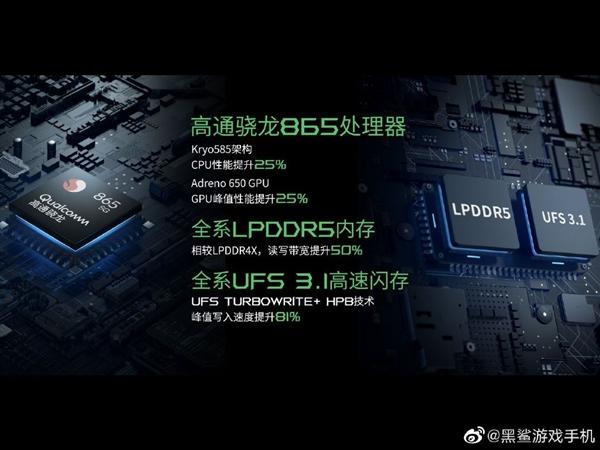 3999元起!腾讯黑鲨3S正式发布:全局120Hz/65W闪充
