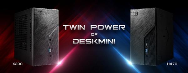 华擎发布新一代DeskMini迷你PC:升级支持10代酷睿、锐龙4000 APU