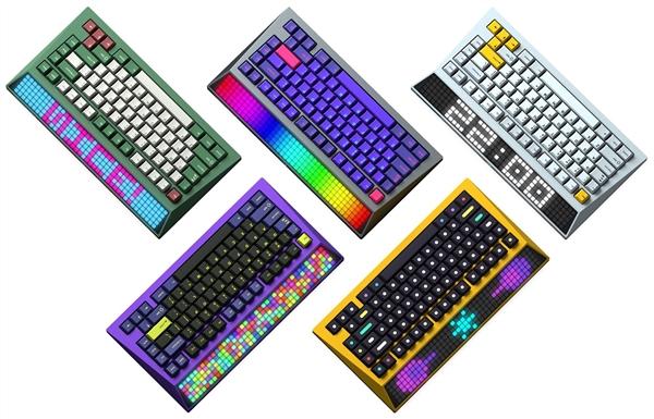 李楠创业首款产品上线众筹:灵感来自Cybertruck的LED键盘、2850元