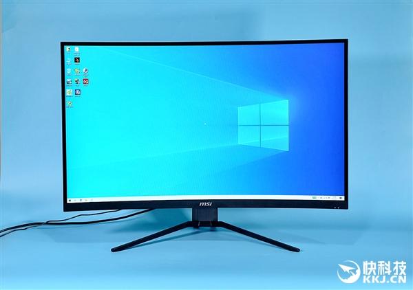 微星MAG322CQR显示器图赏:1500曲面/165Hz/2K