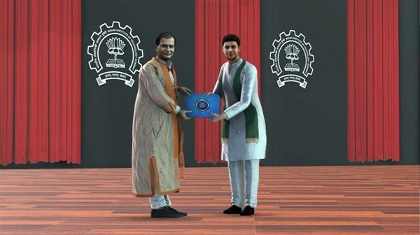 印度一大学举办全3D毕业典礼:毕业生以VR虚拟化身参加