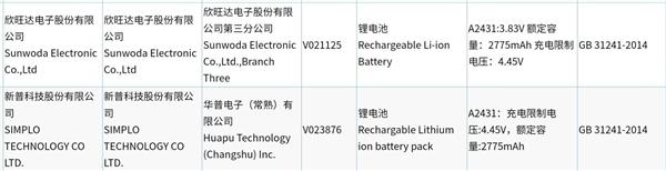 iPhone 12全系电池入网!容量果不其然