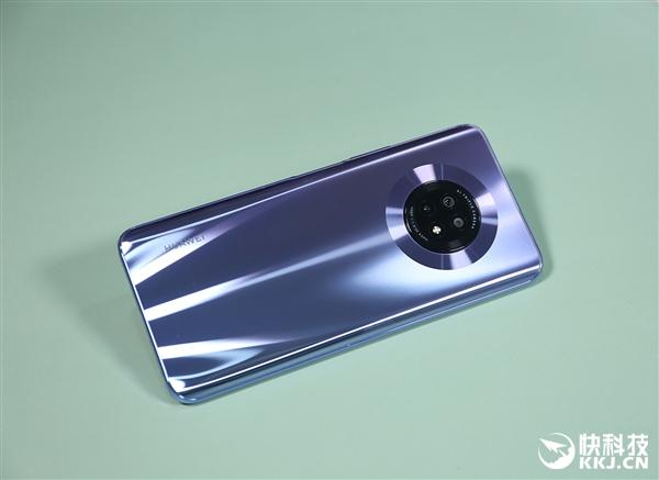 悬浮式镜头 零孔全视屏! 华为畅享20 Plus开箱图赏