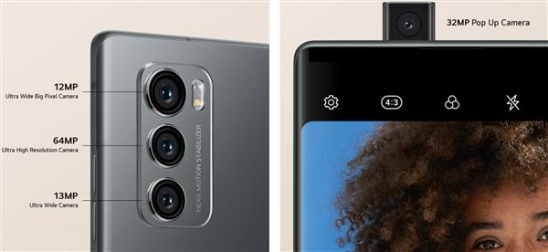 首款可旋转双屏5G手机 LG Wing发布:弹出镜头+双屏