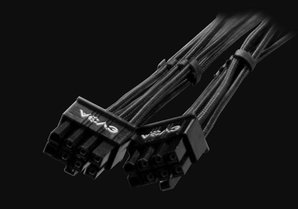 专供RTX 30系显卡 EVGA 12pin电源线开卖:271元一条