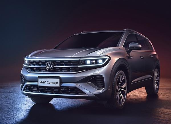 车长超5.1米!一汽大众全新旗舰SUV——SMV今年上市