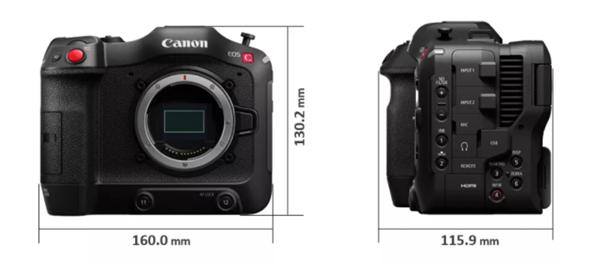 佳能EOS C70发布:首款RF卡口4K摄影机