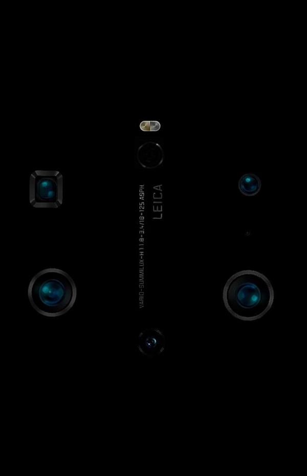 华为Mate 40系列后置六摄镜头模组细节曝光:拍照将更强!