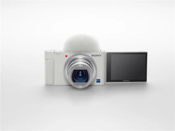 收割一波小姐姐 索尼Vlog相机ZV-1白色版发布:4899元