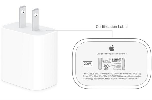官方文档:只有苹果20W充电头才能发挥iPhone 12完整快充实力