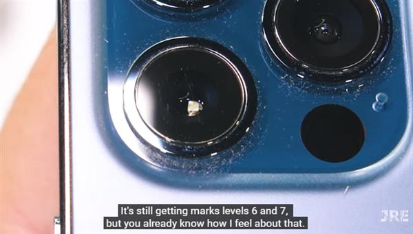 iPhone 12 Pro测试:屏幕/镜头玻璃硬度为6、依旧不耐划