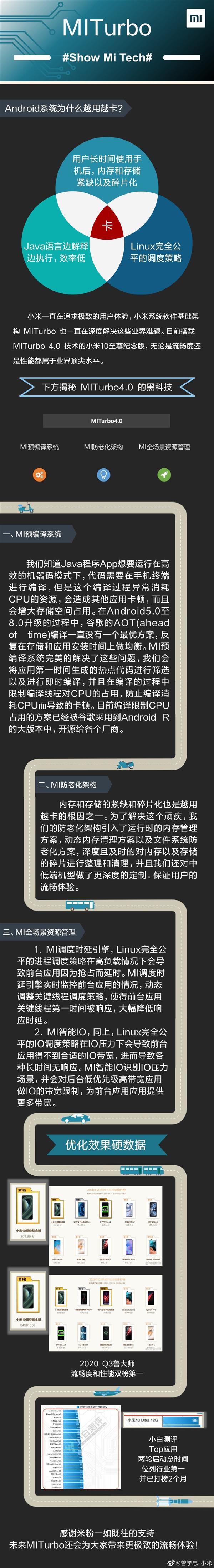 Android系统越用越卡?小米曾学忠解释原因