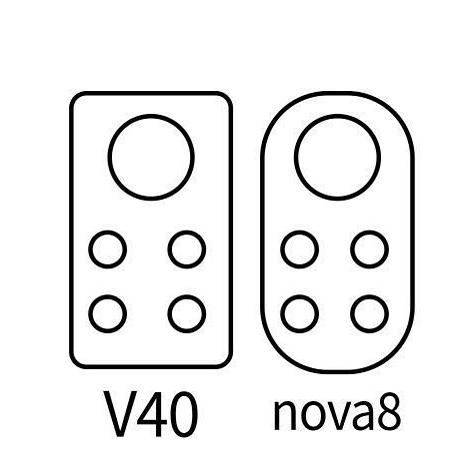 荣耀V40和华为nova 8相机造型曝光:或12月发布
