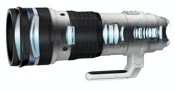 种草!奥林巴斯发布超长焦镜头:1000mm等效手持拍摄成为可能