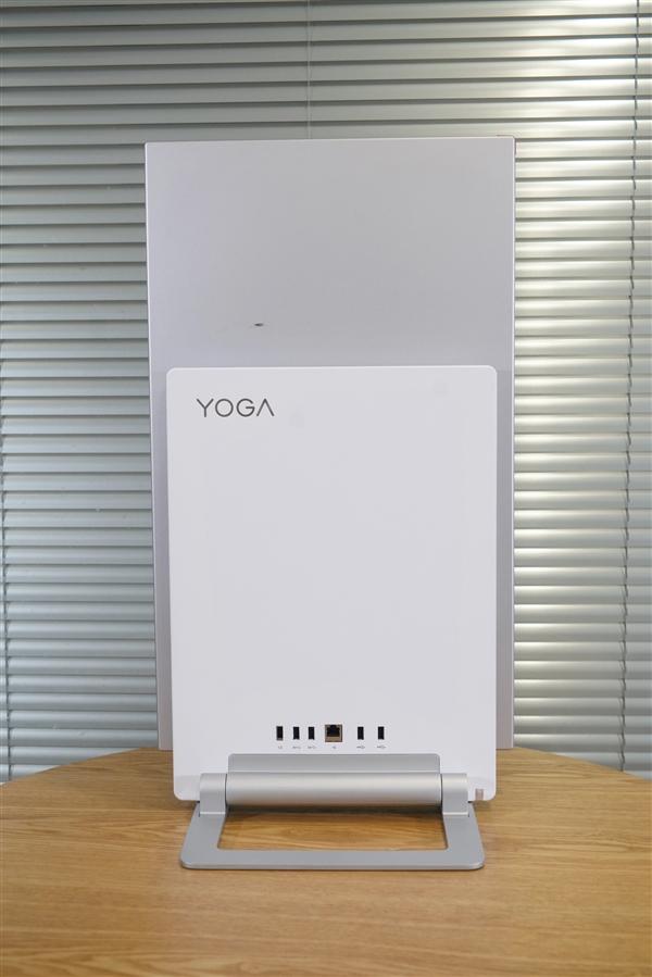 联想一体机YOGA 27图赏:单手即可切换90°至竖屏