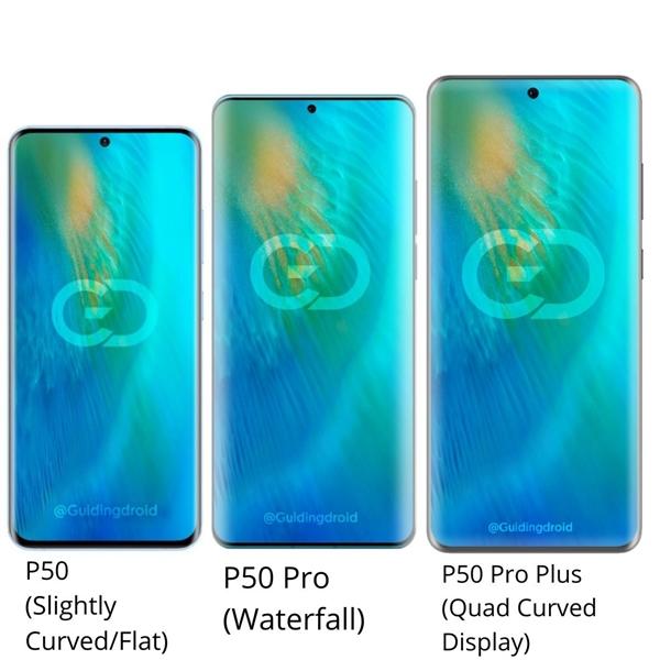华为P50系列曝光!配备三种不同形态屏幕