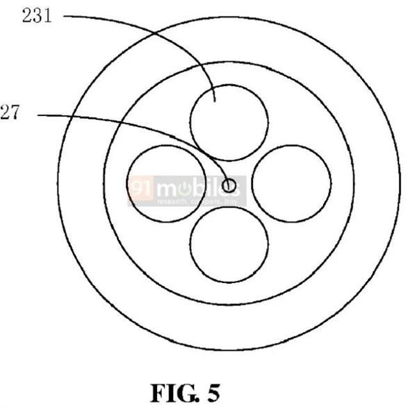 小米新专利曝光:后置摄像头可拆卸 秒变前置摄像头