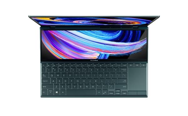 华硕发布灵耀X双屏笔记本:副屏优雅抬起7度、顶配1.2万元