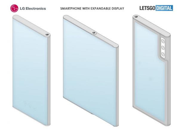 消除折痕!LG卷轴屏手机新专利曝光:前后双柔性屏方案