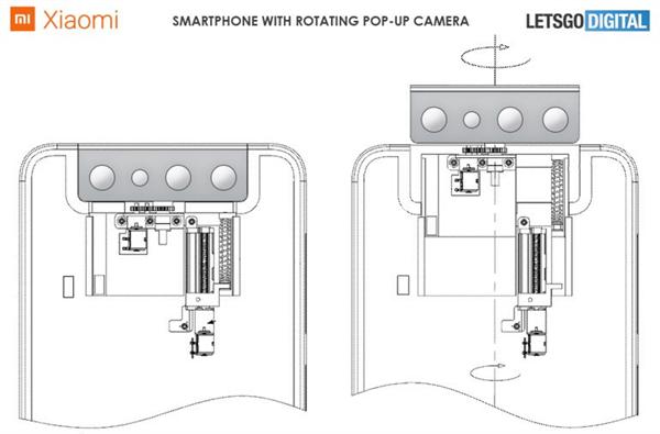 摄像头又被玩坏了!小米新专利曝光:摄像头模组采用翻转式设计