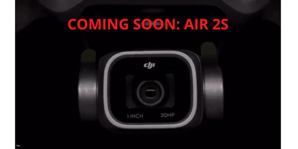 大疆Mavic Air 2S无人机曝光:升级1英寸2000万像素CMOS