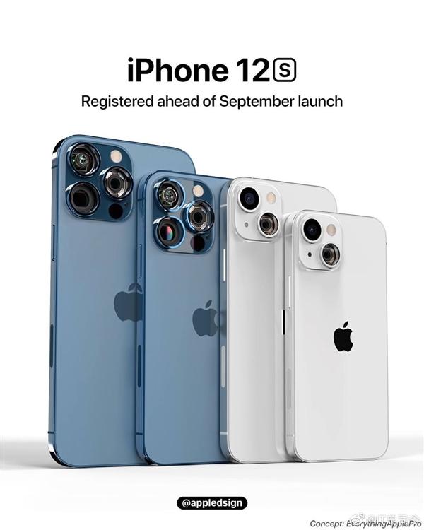 iPhone 12s高清渲染图曝光:后摄引入透明探索版设计