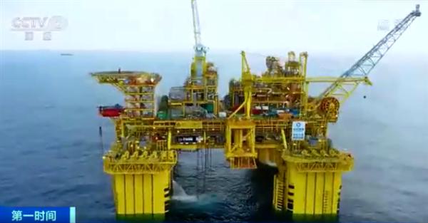 """三项世界首创!""""深海一号""""将正式投产:排水量相当于3艘中型航母"""