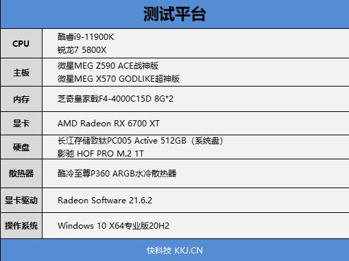 网游谁更强?锐龙7 5800X VS.酷睿i9-11900K顶级对决