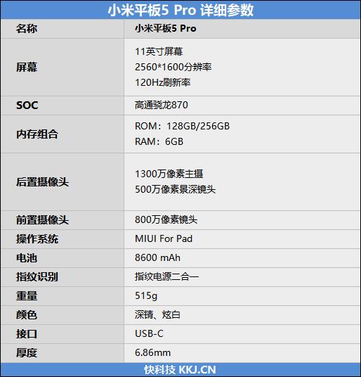 小米平板5 Pro评测:骁龙870极限释放 平板的搅局者