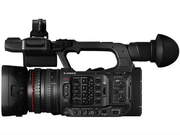 减肥25% 佳能推全新4K摄像机XF605:画质媲美旗舰XF705