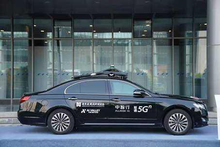中智行5GAI无人驾驶技术加速城市智慧交通发展