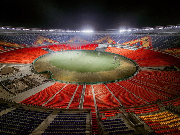 昕诺飞点亮位于印度艾哈迈达巴德的全球最大板球场