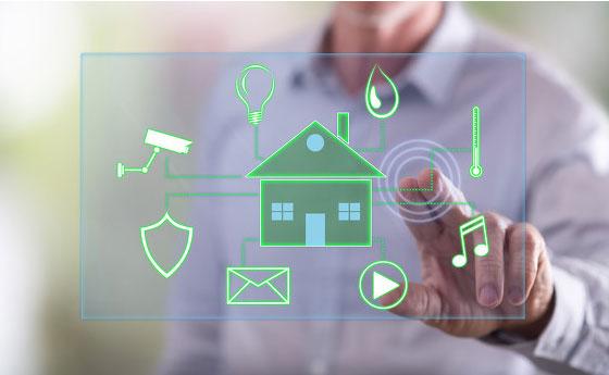 IoT智能设备应用推动全球联网家庭安全市场发展