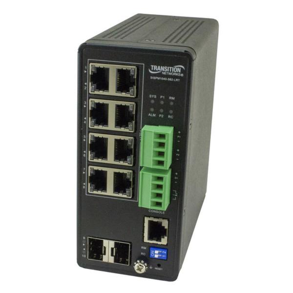 经过UL认证的PoE ++交换机适用于智能照明系统
