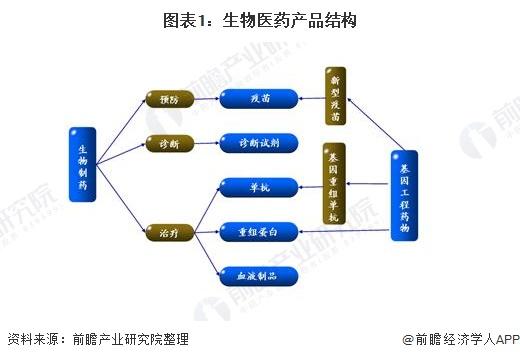 圖表1:生物醫藥產品結構