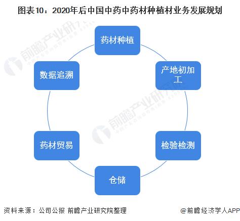 图表10:2020年后中国中药中药材种植材业务发展规划