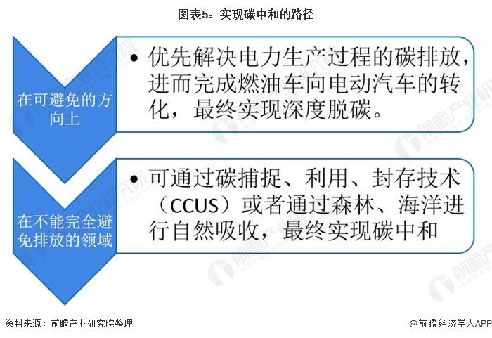图表5:实现碳中和的路径