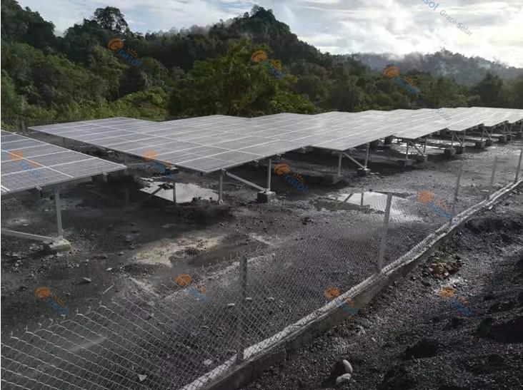 深耕馬來西亞市場:格瑞士馬來西亞4MW鋁合金光伏地面工程竣工