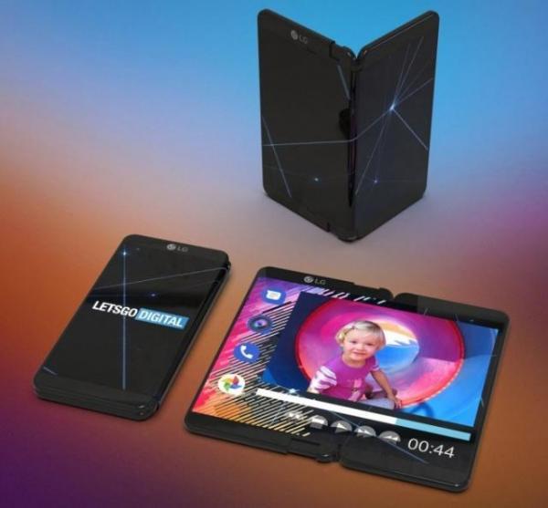 巨头扎堆研发折叠技术,OPPO可折叠平板,LG可折叠手机
