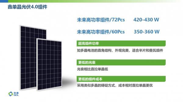 保利协鑫166铸锭单晶技术推动高效组件进入400W时代